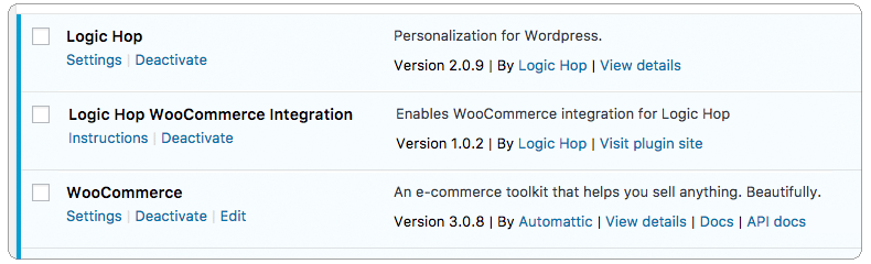 WooCommerce Add-on Activated