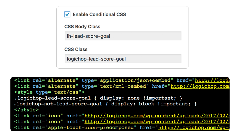 Conditional CSS